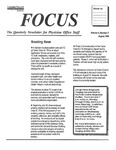 Focus: The Quarterly Newsletter for Physician Office Staff