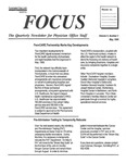 Focus: The Quarterly Newsletter fir Physician Office Staff