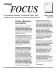 Focus: The Quarterly Newletter for Physician Office Staff