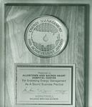 Energy Management Award Plaque