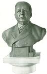 Bronze Bust of Edward Harvey