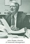 John Reges, Director of Materials Management.