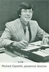 Richard Cipoletti, Personnnel Director.