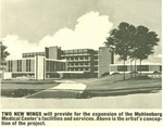 An Artist's Conception of the Muhlenberg Hospital Expansion Project. by Lehigh Valley Health Network