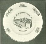 The Allentown Hospital Commemorative Plate
