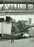 Dismantling the old link at Cedar Crest Hospital