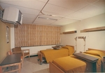 Earley mock up patient room by Lehigh Valley Health Network
