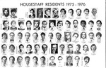 Housestaff Residents 1975-1976