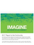 Annual Report (2017): Imagine Report to the Community by Lehigh Valley Health Network